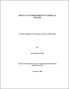 AUGMENTED WATERMARKING A Thesis Submitted to the